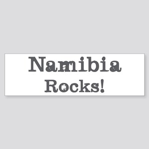 Namibia rocks Bumper Sticker