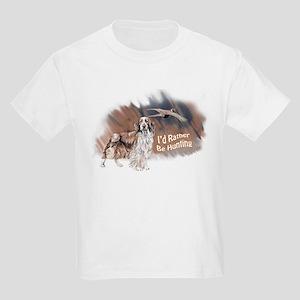 hunting welsh springer Kids Light T-Shirt