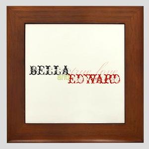 Bella & Edward True Love Framed Tile