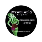"Cthulhu's Bar and Grill 3.5"" Button"