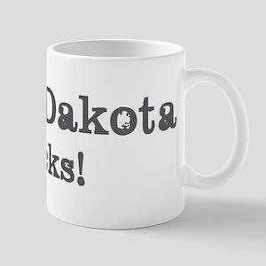 North Dakota rocks Mug