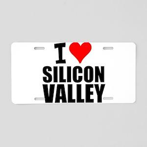 I Love Silicon Valley Aluminum License Plate