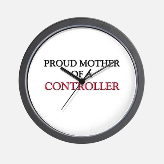 Proud Mother Of A CONTROLLER Wall Clock