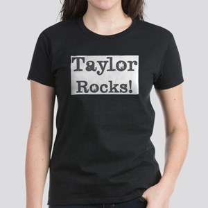Taylor rocks Women's Dark T-Shirt