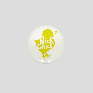 Nick Chick Mini Button