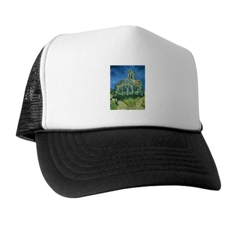 Van Gogh Church Trucker Hat