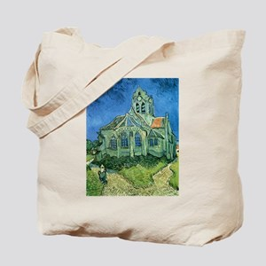Van Gogh Church Tote Bag