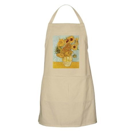 Van Gogh Sunflowers BBQ Apron