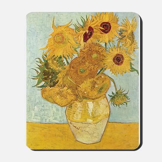 Van Gogh Sunflowers Mousepad