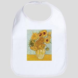 Van Gogh Sunflowers Bib