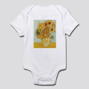 Van Gogh Sunflowers Infant Bodysuit