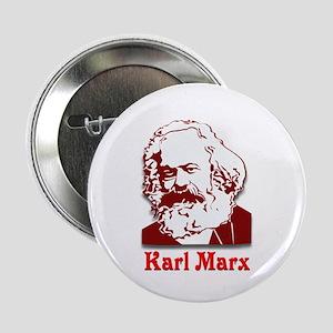 """Karl Marx 2.25"""" Button"""