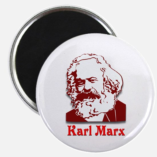 "Karl Marx 2.25"" Magnet (10 pack)"