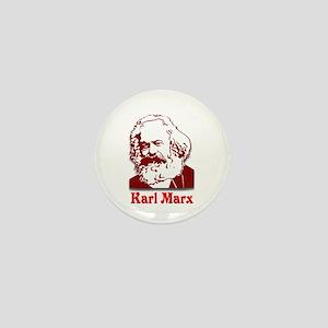 Karl Marx Mini Button