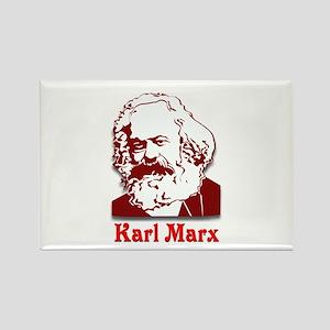 Karl Marx Rectangle Magnet