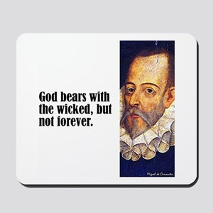 "Cervantes ""God Bears"" Mousepad"