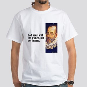 "Cervantes ""God Bears"" White T-Shirt"