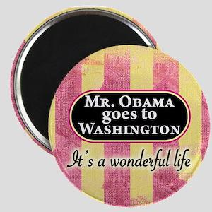 James Stewart/Barack Obama magnet