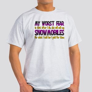 Cheap Snowmobiles Light T-Shirt