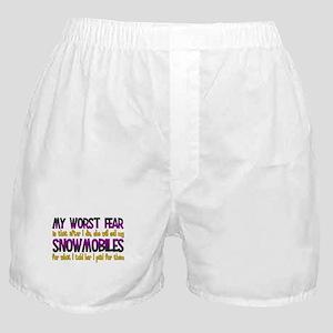 Cheap Snowmobiles Boxer Shorts