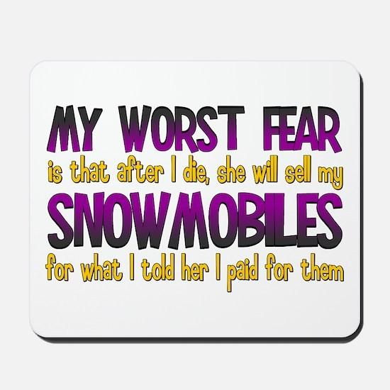 Cheap Snowmobiles Mousepad