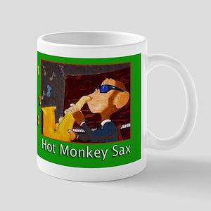 Hot Monkey Sax Mug