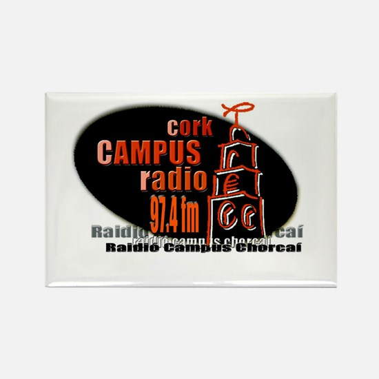 Cool Radio stations Rectangle Magnet