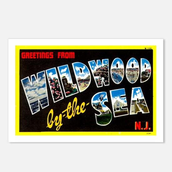 Greetings from Wildwood Postcards (Package of 8)