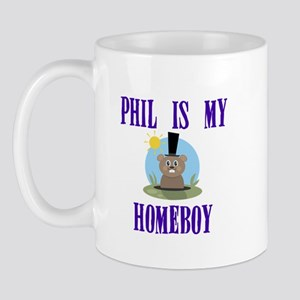 Homeboy Groundhog Day Mug