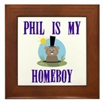 Homeboy Groundhog Day Framed Tile
