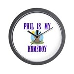 Homeboy Groundhog Day Wall Clock