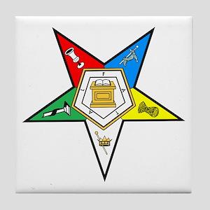 Eastern Star Tile Coaster