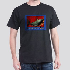 Shark Congrats Dark T-Shirt