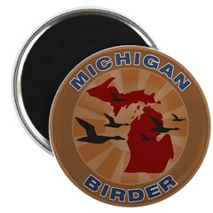 Michigan Birder Magnet