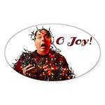 O Joy! Oval Sticker (10 pk)