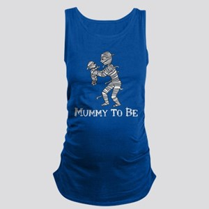 Mummy to be white text Tank Top