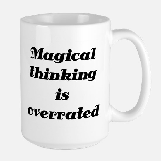OCD Magical thinking Large Mug
