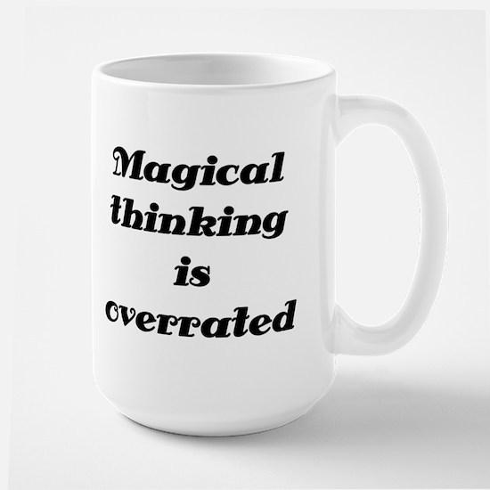 OCD Magical thinking Large Mug