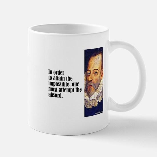 """Cervantes """"Absurd"""" Mug"""