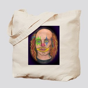 Creepy the Clown Tote Bag