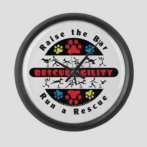 Rescue Agility - Raise Large Wall Clock