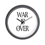War Is Over Wall Clock