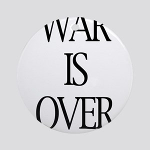 War Is Over Ornament (Round)