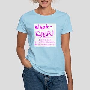 Hacker Girl's favorite Women's Light T-Shirt