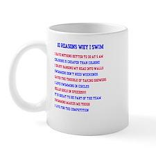 Ten reasons to swim - Male Mug