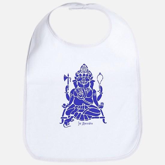 Jai Ganesh (Blue) Bib