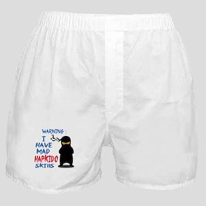 I have mad Hapkido skills Boxer Shorts