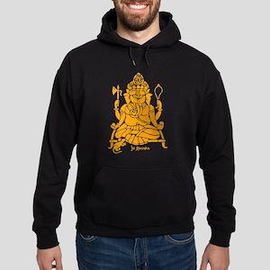 Jai Ganesh (Orange) Hoodie (dark)