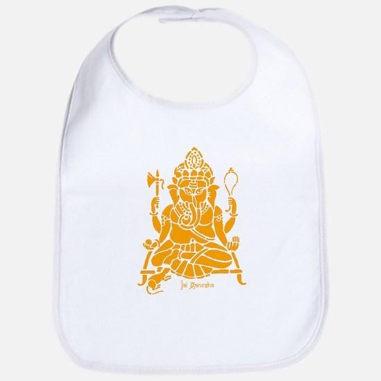 Jai Ganesh (Orange) Bib