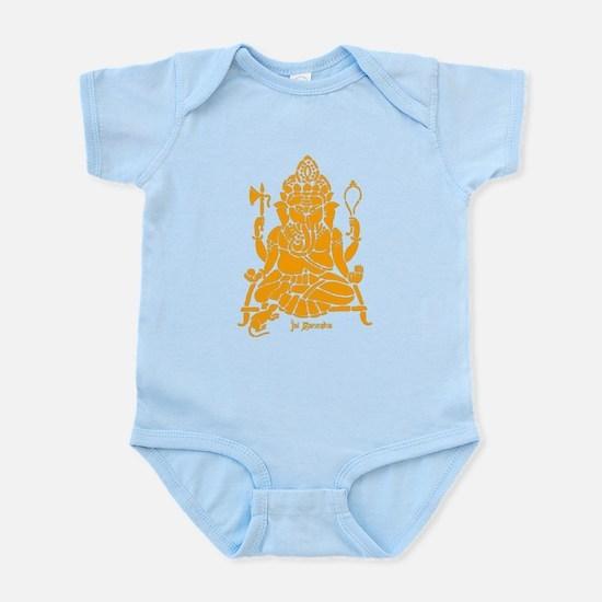 Jai Ganesh (Orange) Infant Bodysuit